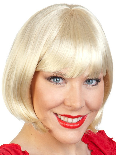 Blonde Bobbed Wig