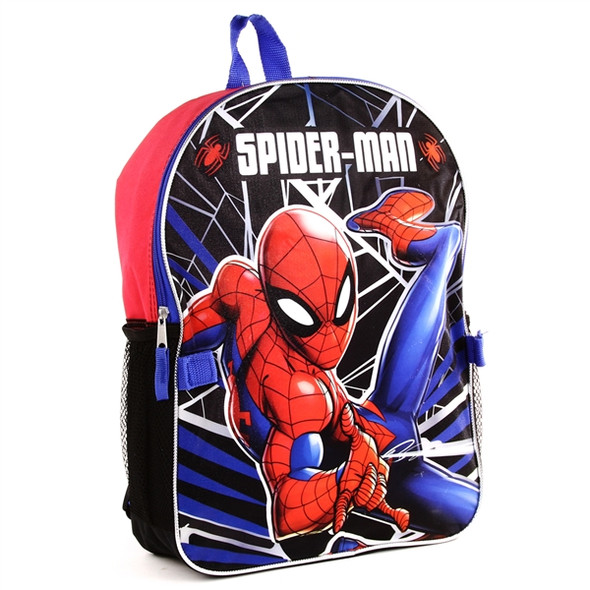 SPIDERMAN BAG WITH DETACHABLE LUNCH KIT