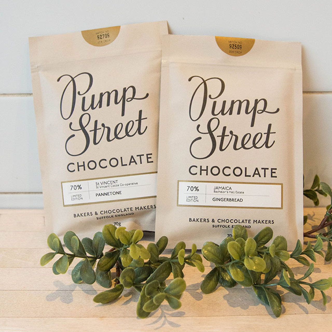 Pump Street Chocolate Holidaylimited Edition
