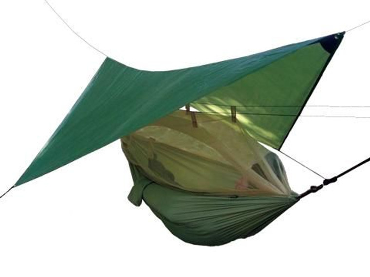 HIGHLANDER CRUSADER HAMMOCK AND TARPAULIN