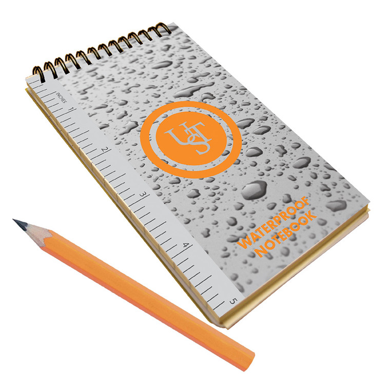 UST WATERPROOF NOTEBOOK & PENCIL