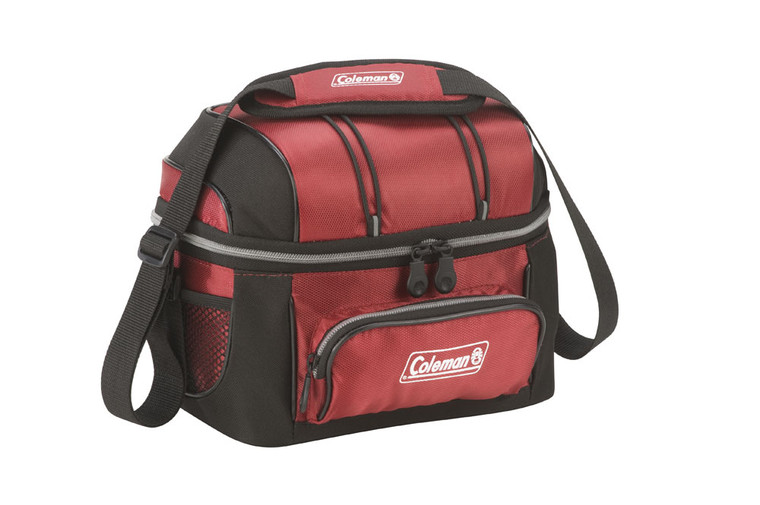 COLEMAN SOFT COOLER 6 CANS (5.8L | RED)