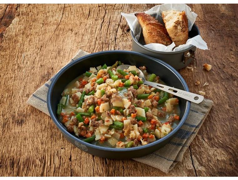 Hearty Potato Stir Fry-Beef & Green Beans