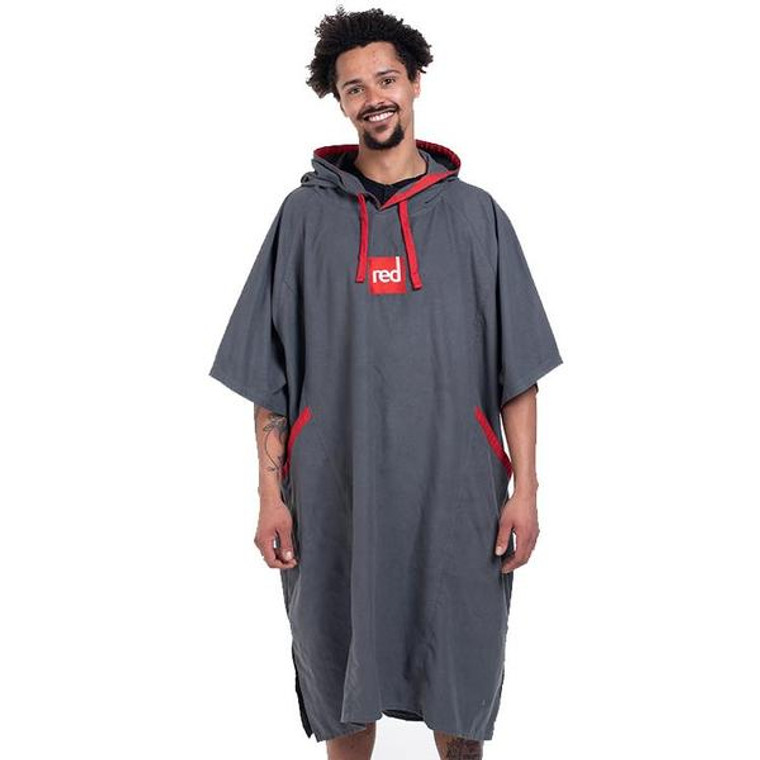 Quick Dry Microfibre Changing Robe - Grey