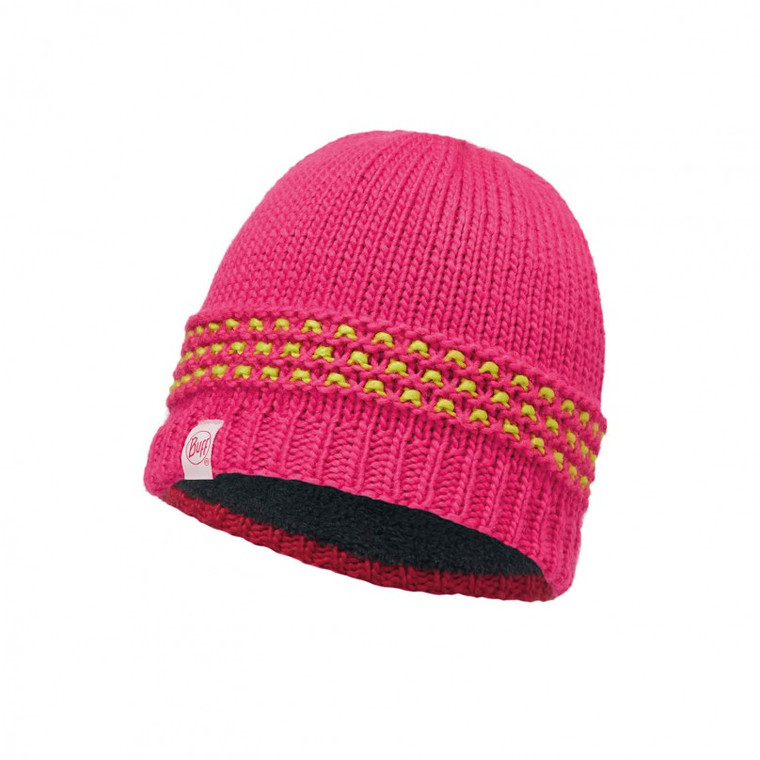JUNIOR KNITTED BUFF HAT (JAMBO PINK)