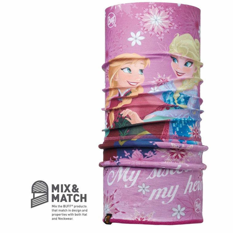 Frozen Sisters Pink/Mardi Grape [Jnr Polar Buff]