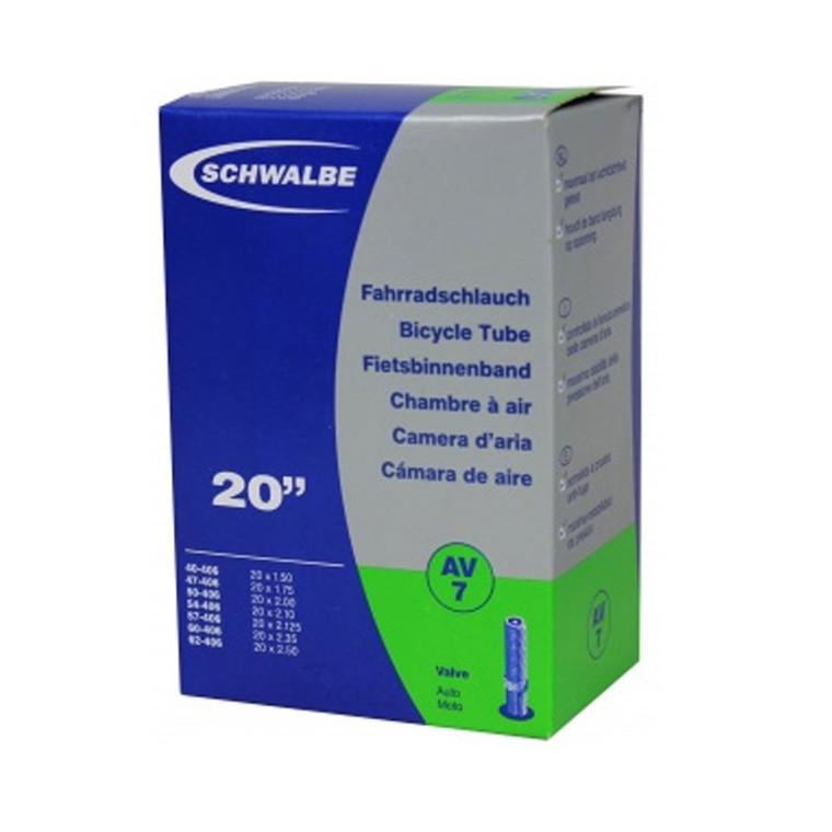 20 X 1.50 - 2.50 INNER TUBE | SCHRADER VALVE