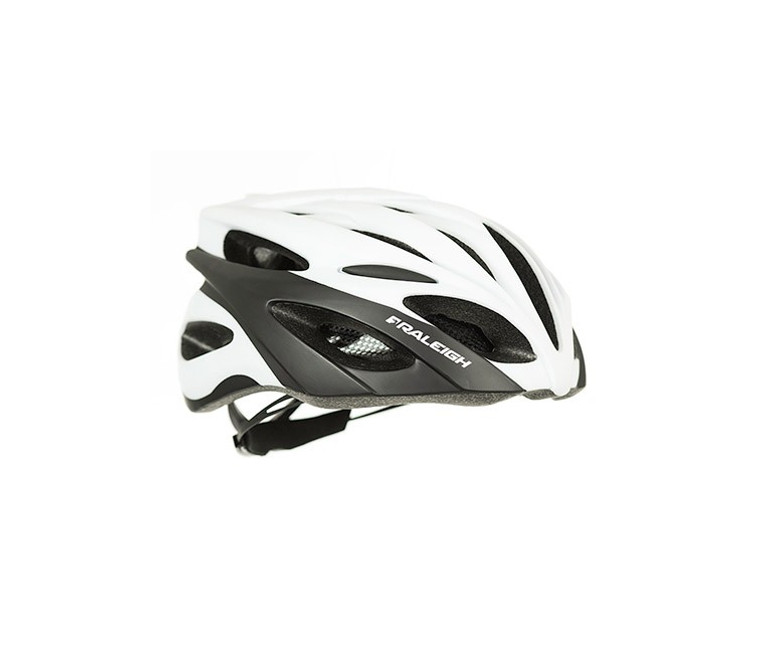 RALEIGH DRAFT CYCLING HELMET | WHITE / BLACK