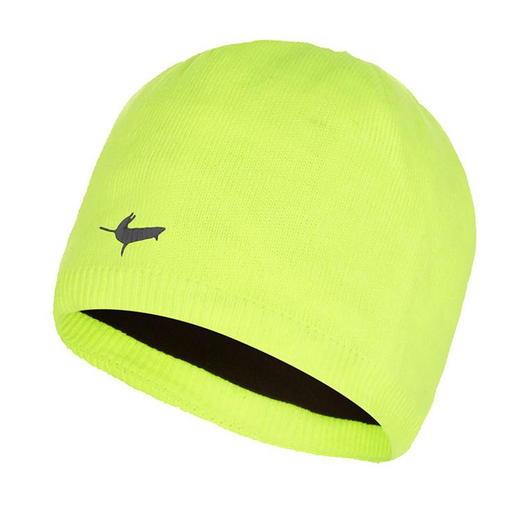 Waterproof Beanie Hat - Hi Vis Yellow