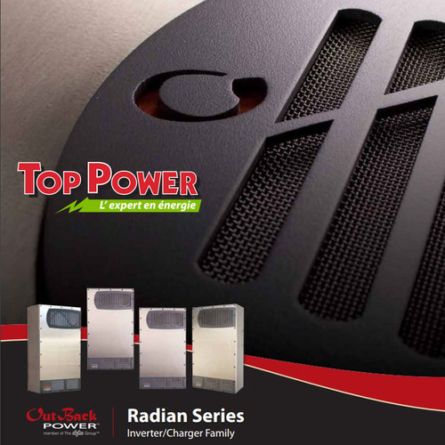 OutBack Power inverter Radian GS8048A-01