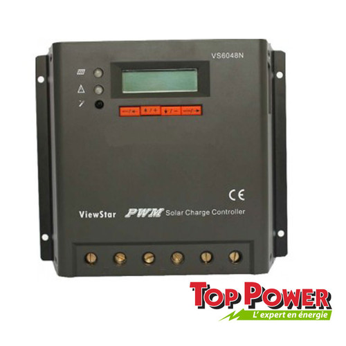 Charge Controller ViewStar EpSolar PWM 60 A - VS6048