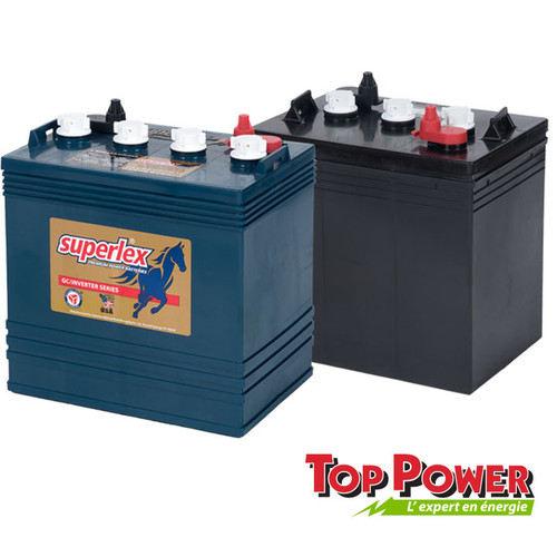 SuperLex Golf Cart Battery 220AH @ 6VDC