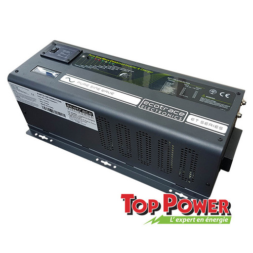 ECOTRACE  Inverter/Charger  ECOTRACE 4,000 Watts 120/240VAC @ 24 VDC