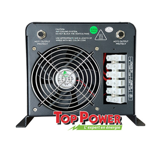 ECOTRACE  Inverter/Charger  ECOTRACE 3,000 Watts 120VAC @ 24 VDC