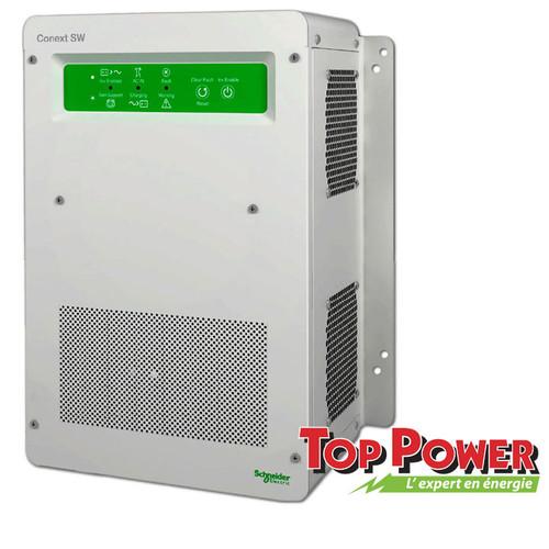 SW2524 SCHNEIDER  Inverter/Charger 2.5Kw SW 24Vdc 120/240V