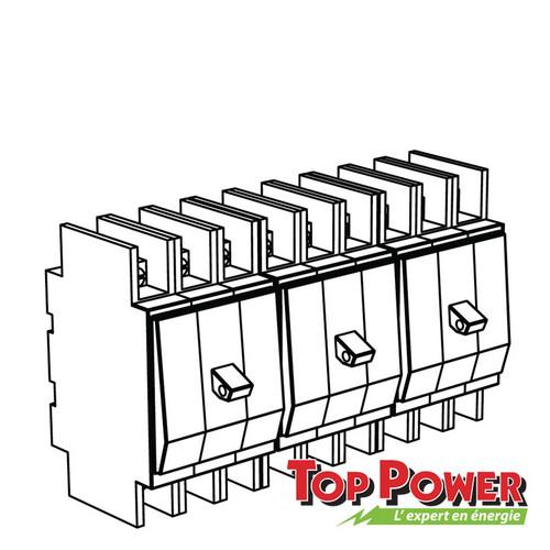 Schneider 3 Phase Breaker Kit 3 Poles 60A 120/208 Vac