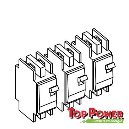 Schneider 3 Phase Breaker Kit 2 Poles 60A 120/240 Vac