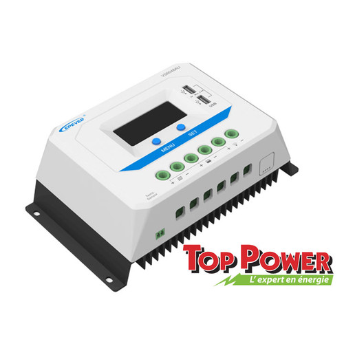 EPSOLAR Charge Controller PWM 60A 48Vdc - USB Port
