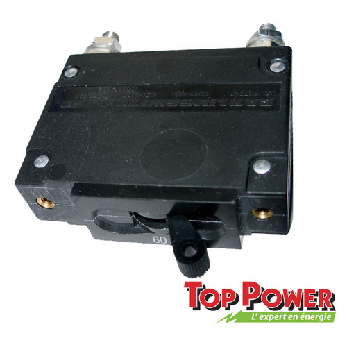 MIDNITE  Breaker MidNite 100A 150Vdc/120Vac Panel Mount 19MM