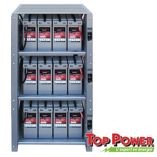 OUTBACK  3 Shelf Battery Enclosure