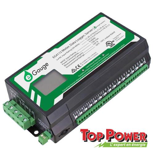 EGAUGE  Egauge EG4130 - 15 Ports - VDC port - Screen