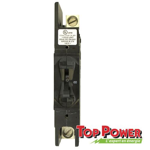 Schneider Breaker 100A 125Vdc Panel Mounted
