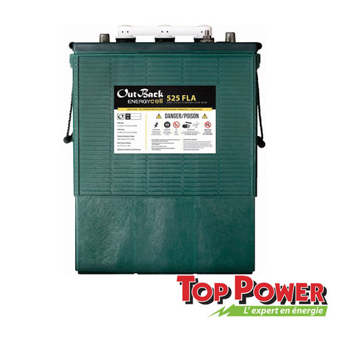 Outback L16 Battery 6Vdc - 525 AH C100