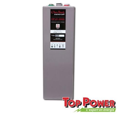 Outback 2 V Battery OPzV 3000 - 2Vdc @ 2,529Ah