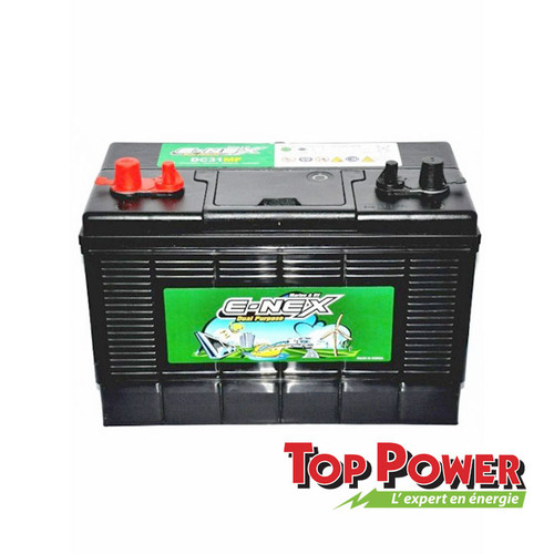 E-NEX  Battery 12VDC @ 100AH - Marine Deep Cycle