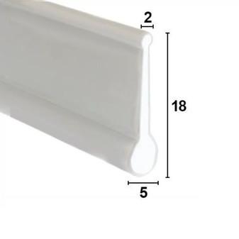 BIF002 Bifold Channel Shower Seal