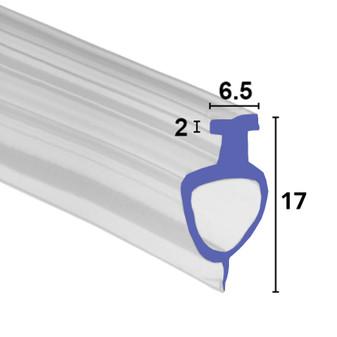 BIF014 Bifold Channel Shower Seal