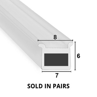 MAG030 - Magnetic Shower Door Seal