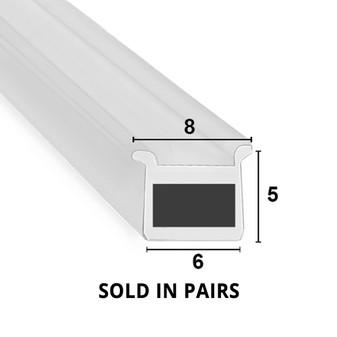 MAG031 - Magnetic Shower Door Seal