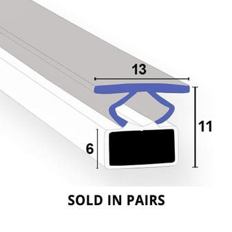 MAG033 - Magnetic Shower Door Seal