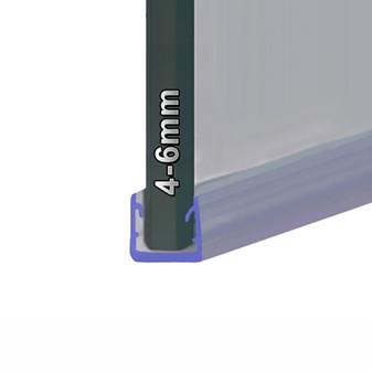SEAL024 - Long Vertical Shower Door Seal