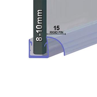 SEAL057 - Vertical Shower Door Seal