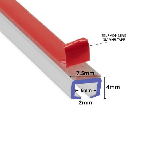 SEAL093 - Self Adhesive Shower Door Seal