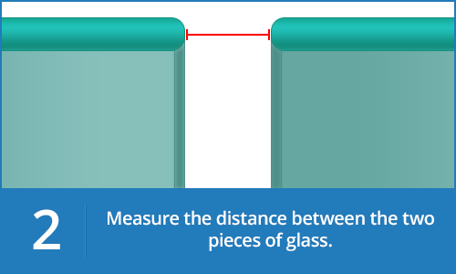 Measure the distance