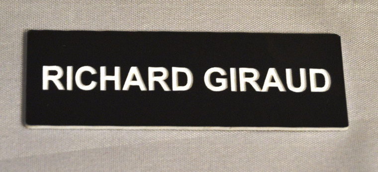 Name Badges - Lasered NO LOGO