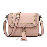 M1938 Sage Crossbody with Grommet Details