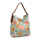 Alexa Hobo Bag Floral & Plaid Collection