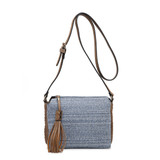 M1918 Sabrina 2 Tone Crossbody w/ 3 Compartments
