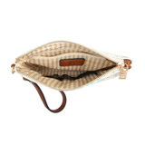 M1949 Lucy Cosmetic Pouch w/ Inner Slip and Zip Compartments