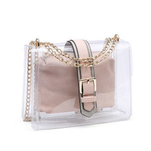 Ari Two in One Clear Crossbody