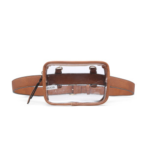 Camryn Convertible Clear Fanny Pack/Crossbody