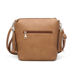 Evie Double Tassel Crossbody