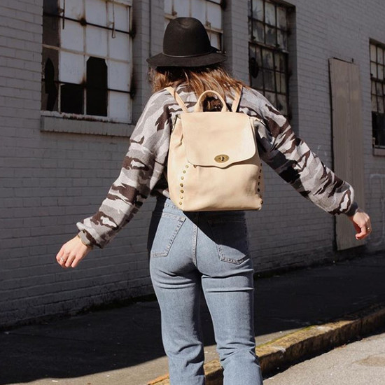 Bex Rustic Studded Backpack