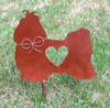 Shih Tzu Dog Metal Garden Stake - Metal Yard Art - Metal Garden Art - Pet Memorial 2