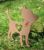 Painted Chihuahua Dog Metal Garden Stake - Metal Yard Art - Metal Garden Art - Pet Memorial - 2