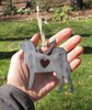 Akita Dog Ornament Pet Memorial W/ Angel Wings - Pet Loss Dog Sympathy Remembrance Gift - Metal Dog Christmas Ornament